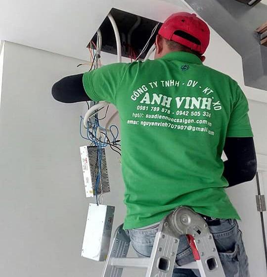 thợ sửa điện Anh Vinh