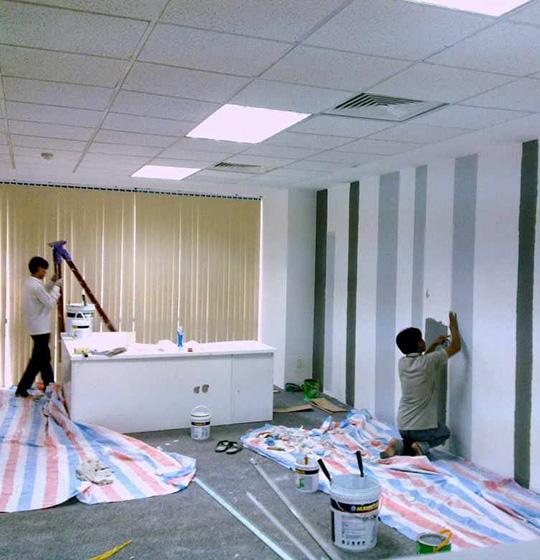 dịch vụ sơn nhà