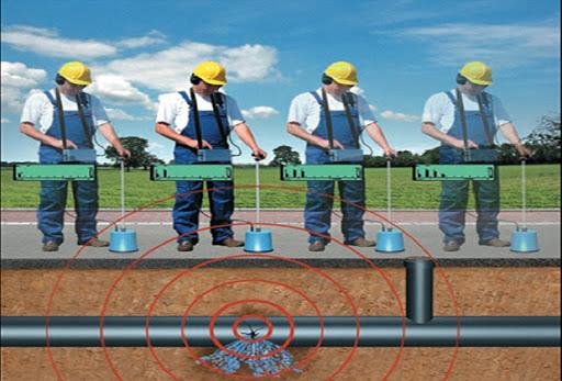 Công ty siêu âm đường ống nước âm dưới đất