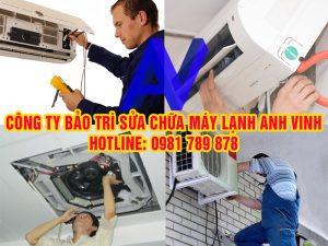 thợ sửa chữa máy lạnh Anh Vinh