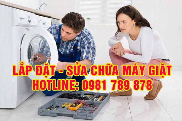 dịch vụ lắp đặt, sửa chữa máy giặt